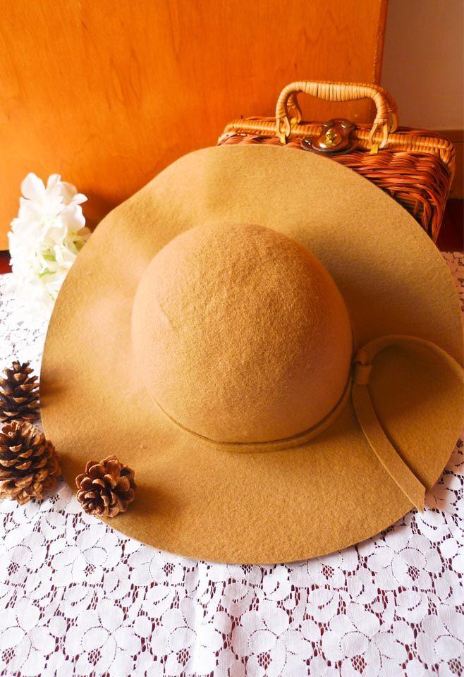 Chicwish Wool Blend Floppy Hat