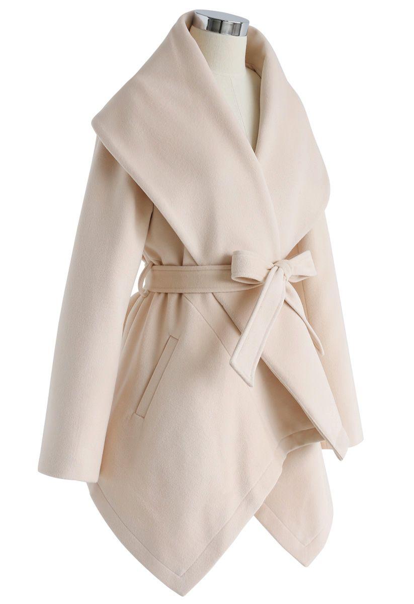 Prairie Rabato Coat in Cream