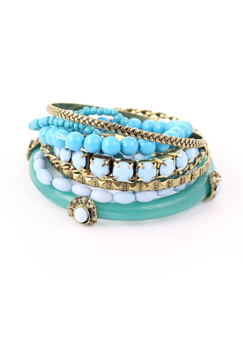 Mixed Turquoise Bracelet Pack